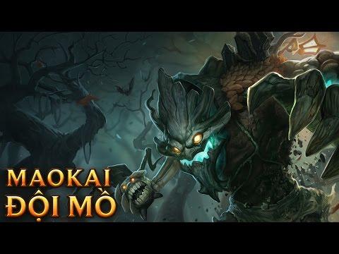 Maokai Đội Mồ - Haunted Maokai - Skins lol