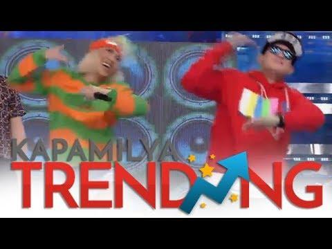 Vice Ganda at Zeus Colllins, nagkabugan sa pagsayaw ng Level Up Dance!