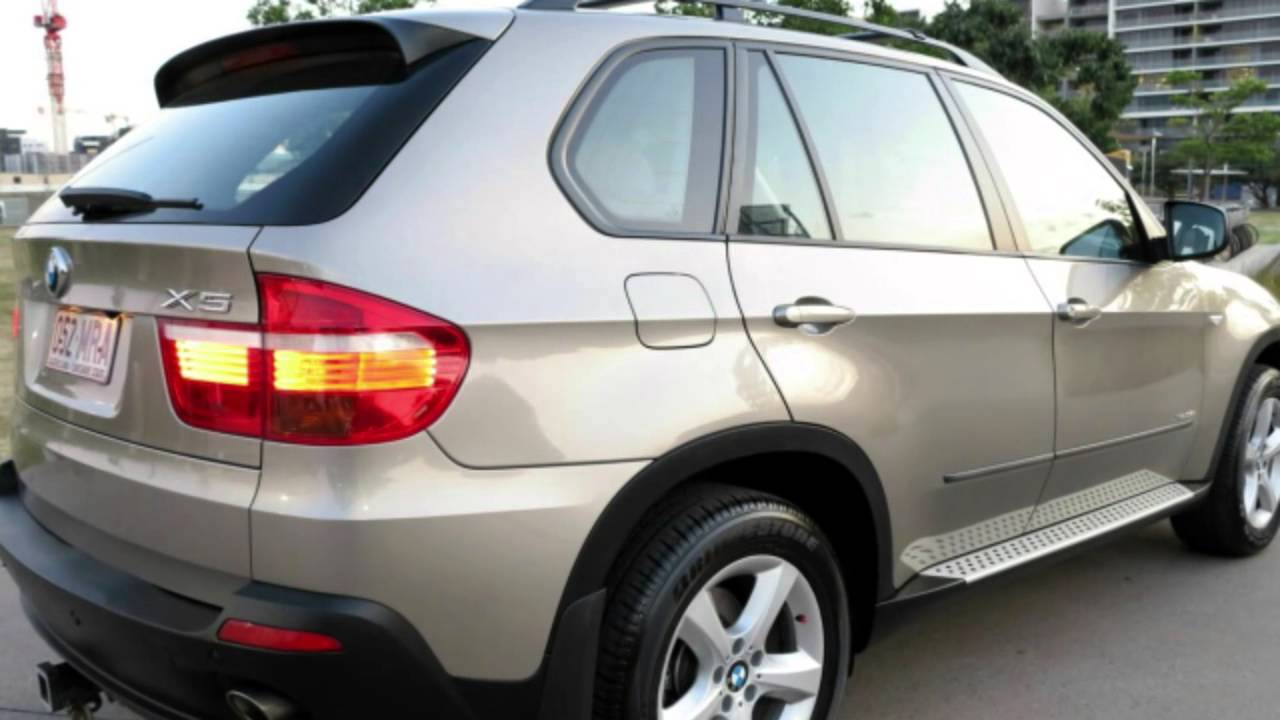 2009 BMW X5 E70 MY10 XDrive35d Steptronic Silver 6 Speed Auto Seq Sportshift Wagon