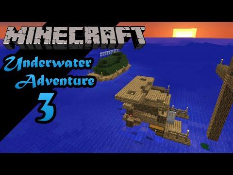 Minecraft 1.8 -- Underwater Adventure -- Episode 3: Ship Farms