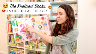 The Prettiest books in our Home Library