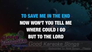 Where Could I Go But To The Lord - Gaither Vocal Band ( Karaoke Lyrics )