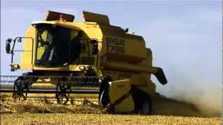 Big Machines in the fields - english voice