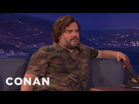 Jack Black's Weight Loss Tips - CONAN on TBS