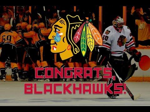 Congrats, Blackhawks!