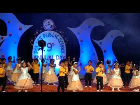 Give me freedom dance by LKG children