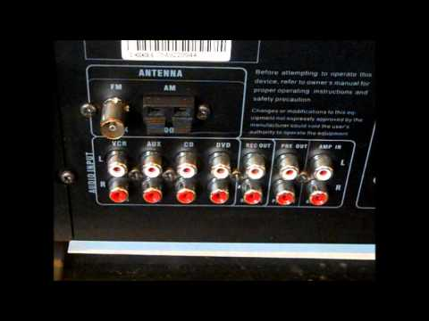 STEREO HOOK UP ( Tuner EQ And Receiver Amp Wiring ) PART 1 - YouTube