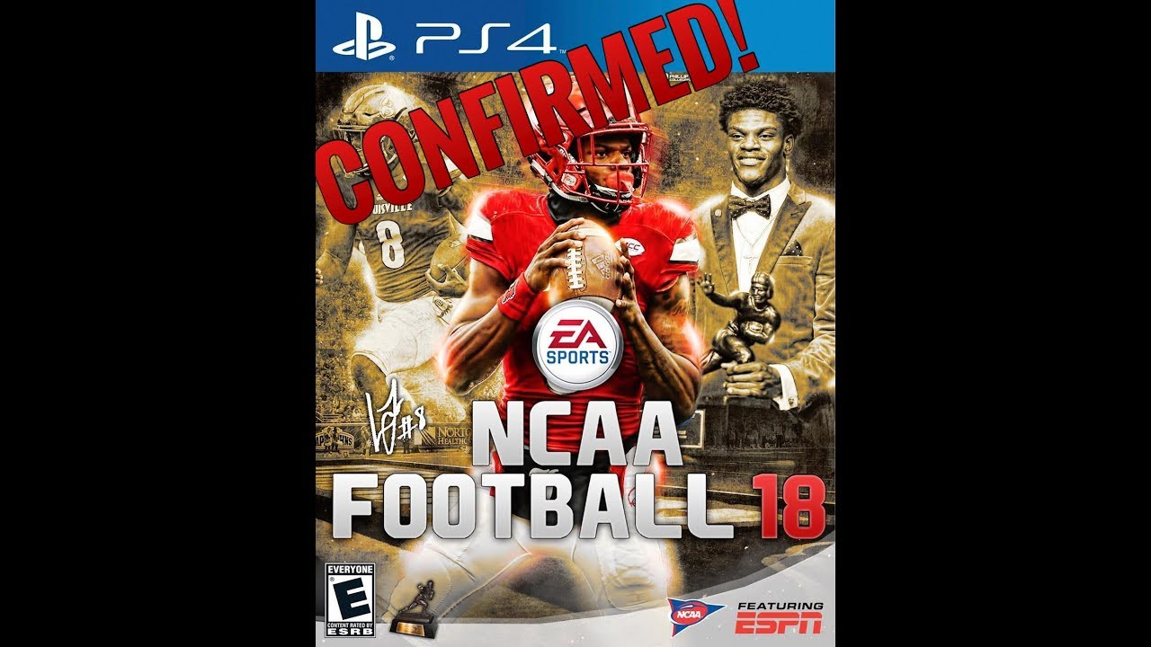 NCAA FOOTBALL 18 CONFIRMED!! (College Football Video Game ...