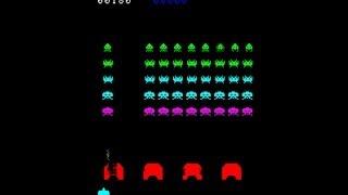 スペースインベーダー / Space Invaders 23840pts