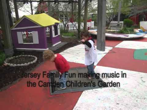 Making music in the Camden Children's Garden April 2012.wmv