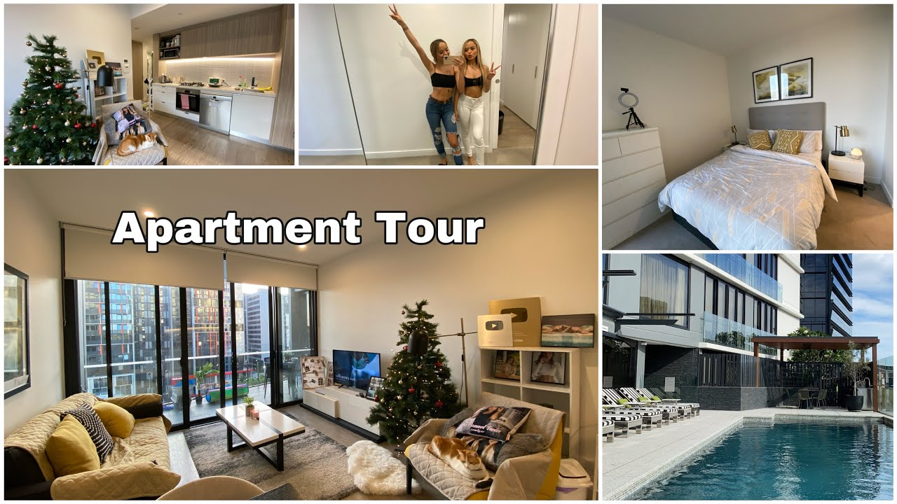 Apartment Tour! (Tempat baru kita di Brisbane ) - YouTube