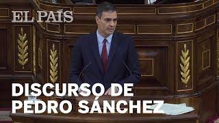 El DISCURSO de INVESTIDURA completo de PEDRO SÁNCHEZ