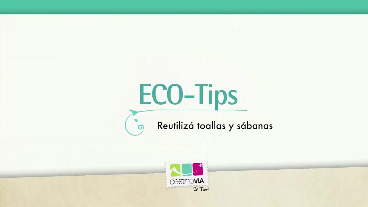 ECO TIP: es necesario el recambio de sábanas y toallas todos los días en los hoteles?