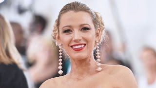 Blake Lively Stuns in Cannes While Hiding Her Barely-There Baby Bump in Maxi Dress