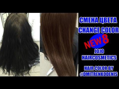 Как перекрасится из ЧЕРНОГО ЦВЕТА ВОЛОС №8 | CHANGE COLOR ☆ ★ Hair Tutorial