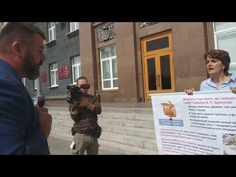 Жительница Орла поставила на место Сергея Лежнева, пресс-секретаря губернатора Орловской области.