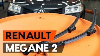 RENAULT MEGANE II Saloon (LM0/1_) első és hátsó Törlőlapát szerelési: ingyenes videó