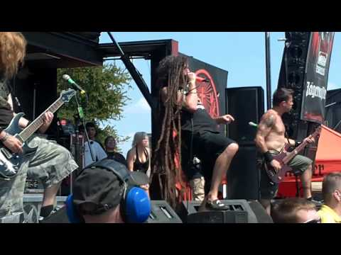 "Shadows Fall - 06 - ""The Light That Blinds"" - Mayhem Fest - Dallas, TX - 08-13-10"