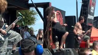 """Shadows Fall - 06 - """"The Light That Blinds"""" - Mayhem Fest - Dallas, TX - 08-13-10"""