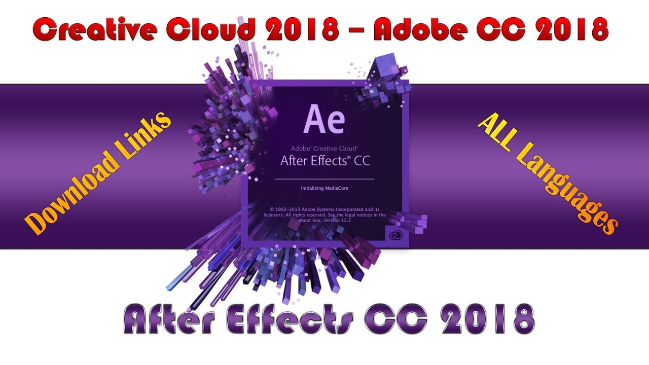adobe after effects cc 2018 trial version