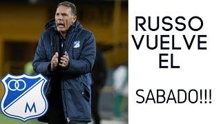 Russo Regresa a Bogotá Para Dirigir a Millos!! [Noticias Millonarios] Austin