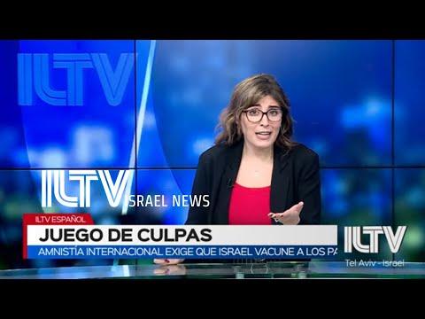 ILTV Noticias De Israel En Español 07.01.21 NETANYAHU CONDENA LA PROTESTA EN EL CAPITOLIO