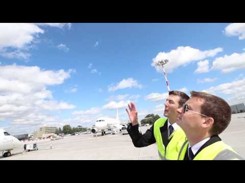 airBaltic Bombardier Dash-8 Q400 external check by our pilots (part 1 of 6 - PFI Introduction)