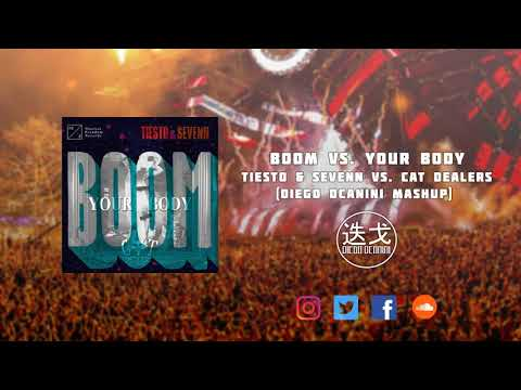 BOOM vs. Your Body - Tiësto & Sevenn vs. Cat Dealers (Diego Dcanini Mashup)