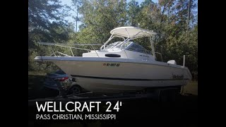 [SOLD] Used 1998 Wellcraft 240 Coastal in Pass Christian, Mississippi