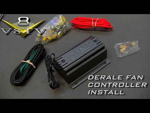 [SCHEMATICS_4JK]  Derale Fan And PWM Controller Install Video 1964 Ford Galaxie 500 XL V8TV -  YouTube | Derale Fan Controller Wiring Diagram |  | YouTube
