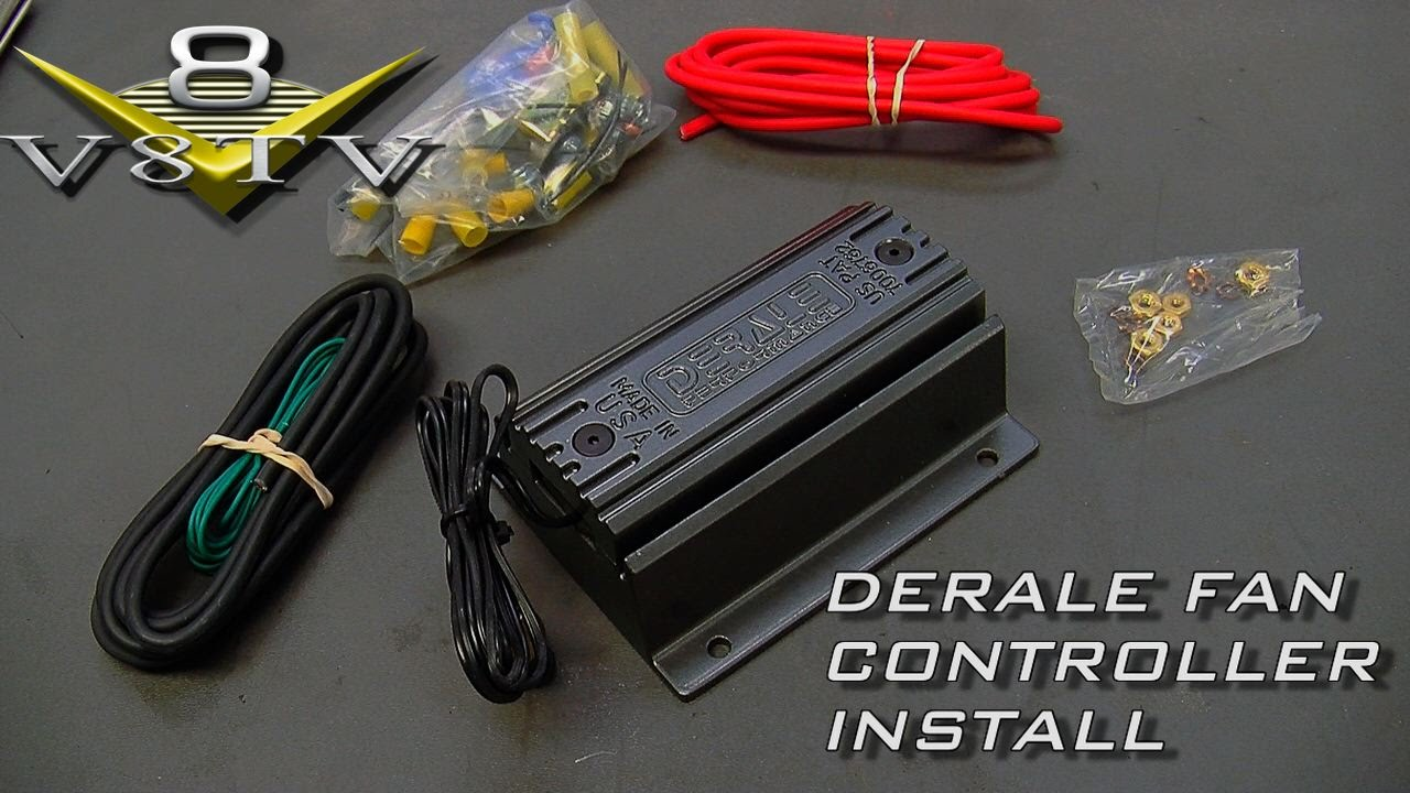 derale fan and pwm controller install video 1964 ford galaxie 500 xl rh youtube com