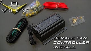 Derale Fan And PWM Controller Install Video 1964 Ford Galaxie 500 XL V8TV