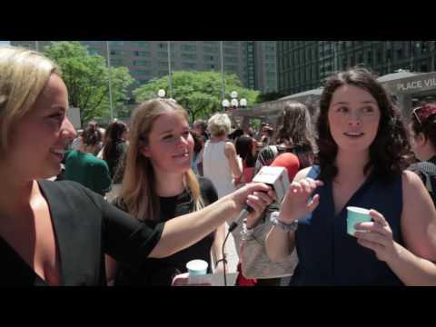 Marché public sur l'Esplanande Place Ville-Marie | Montreal.TV