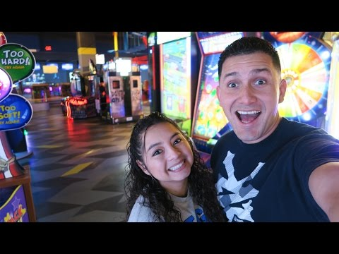 We played almost every game in the ARCADE!