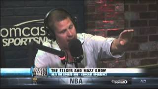 Felger & Mazz: Knicks Don't Get It And A Mazz Conspiracy Theory