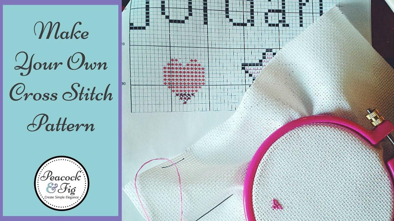 Design Cross Stitch Patterns How To Make Charts