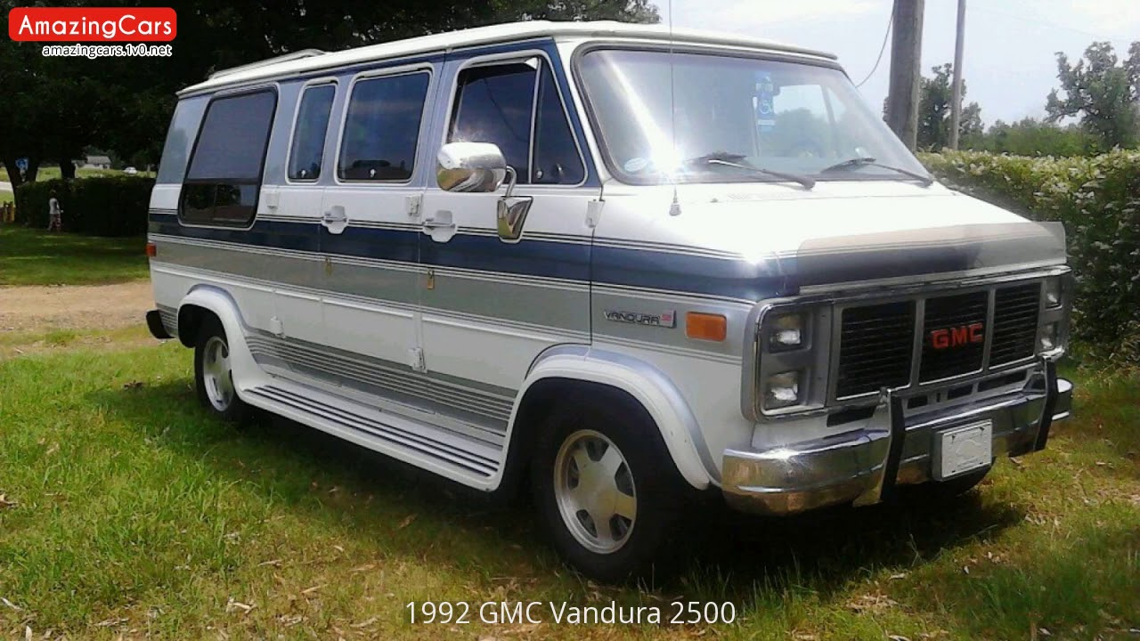 1992 gmc vandura 2500 youtube. Black Bedroom Furniture Sets. Home Design Ideas