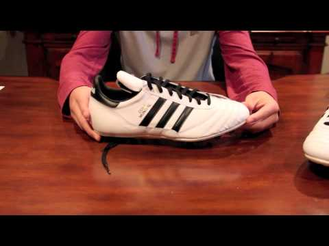 White Adidas Copa Mundial Unboxing and Review