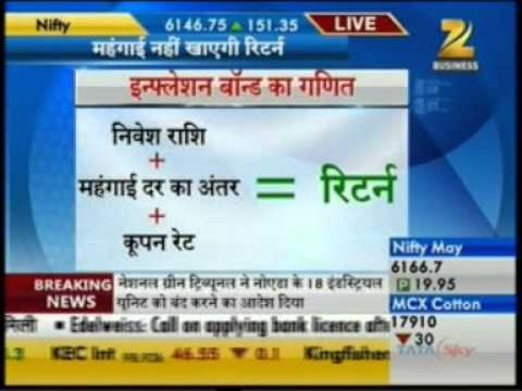 Inflation Indexed Bond -- armed to beat inflation, Harsh Roongta on ZEE Business