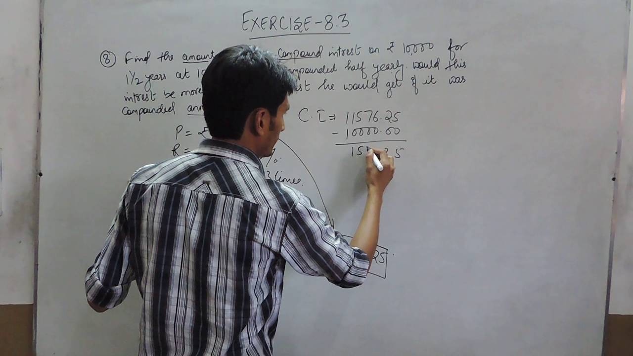 Exercise 83 Question 8 Ncertcbse Solutions For Class 8th Maths