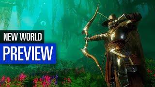New World   PREVIEW   Die ersten Stunden - Wir haben das Amazon-MMO angespielt!