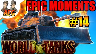 World of Tanks | Awesome and Epic Moments #14
