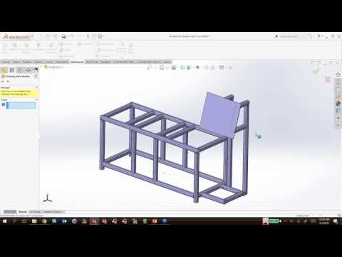 Streamline the Design and Manufacture of Structures and Frames Using Weldments