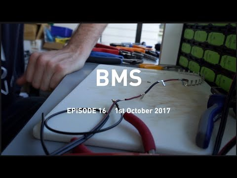 Battery Management System (BMS) for a Lithium Ion Battery: Eat Sleep Van 16
