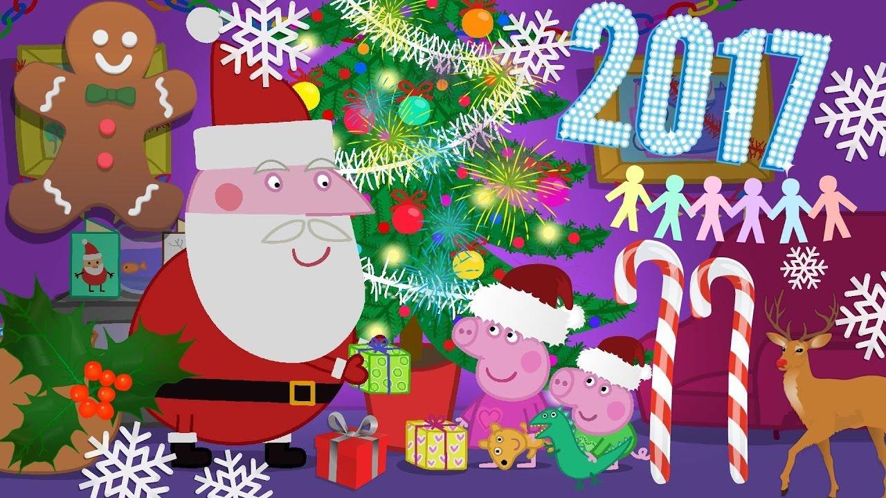 небольшом открытка с новым годом смешная со свинкой пеппой такая
