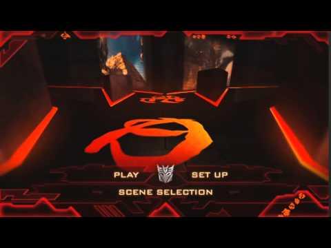 menu dvd de transformers 2 la venganza de los caidos (2009)