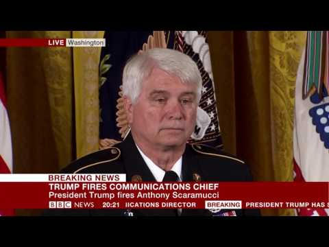 President Trump's Speech at the Medal of Honour ceremony- BBC News