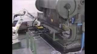 Роботизированная листовая штамповка