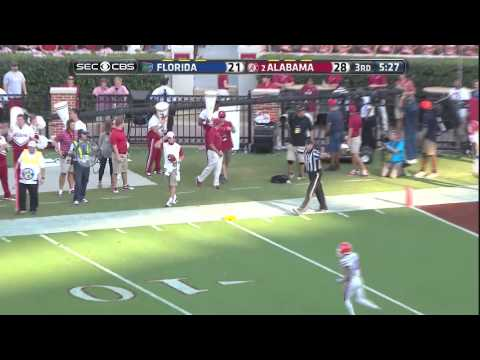 Alabama vs Florida, 2014 (in under 47 minutes)