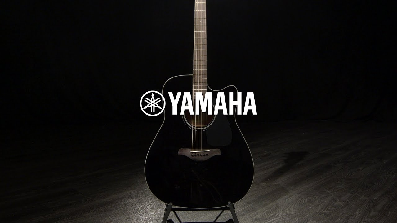 Yamaha Fgx800c Electro Acoustic Guitar Black Gear4music Demo